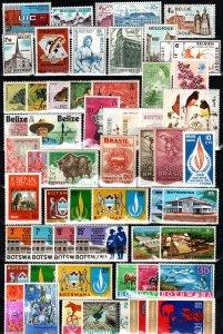 Worldwide  Lot Mint Never Hinged  (X150)