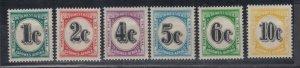 South West Africa 1961 Postage Due Set SGD45/050 MNH J8409