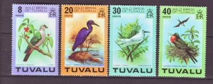 J22203 Jlstamps 1978 tuvalu set mnh #73-6 birds