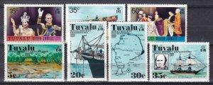 Tuvalu #43-5, 54-7   MNH CV $7.15 (Z7099)