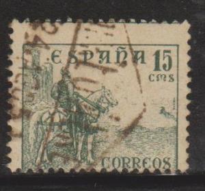 Spain Sc#666b Used