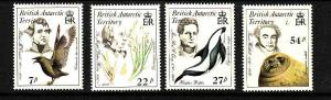 British Antarctic Territory-Sc#125-8- id2-unused NH set-Naturalists-Flora-Fauna-