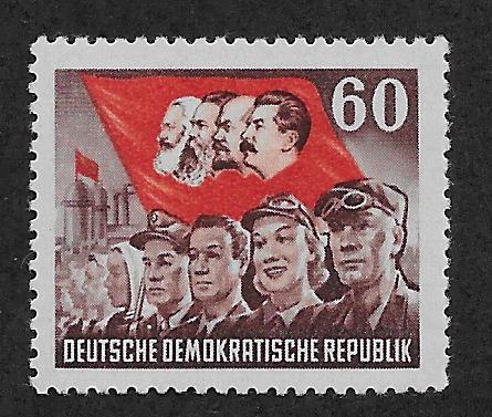 GERMANY - DDR SC# 145 FVF/MOG 1953