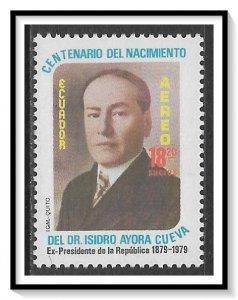 Ecuador #C717 Airmail MNH