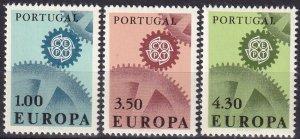 Portugal #994-6  MNH CV $9.50  (Z8018)