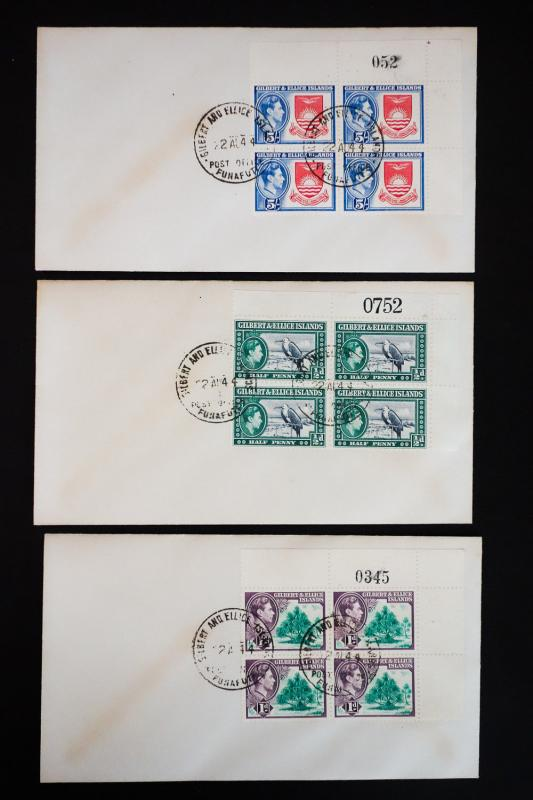 Gilbert & Ellice # 40-51 on Covers