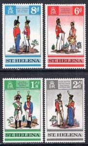 St Helena 228-231 MNH VF