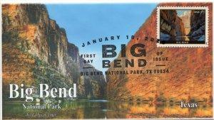 20-015, 2020, SC 5429, Big Bend National Park, Pictorial Postmark, FDC, Texas,