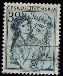 Czechoslovakia Scott 692 used stamp