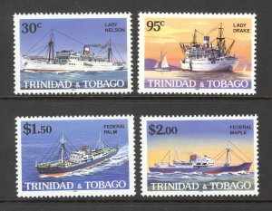 Trinidad & Tobago Sc# 430-433 MNH 1985 30c-$2.00 Ships