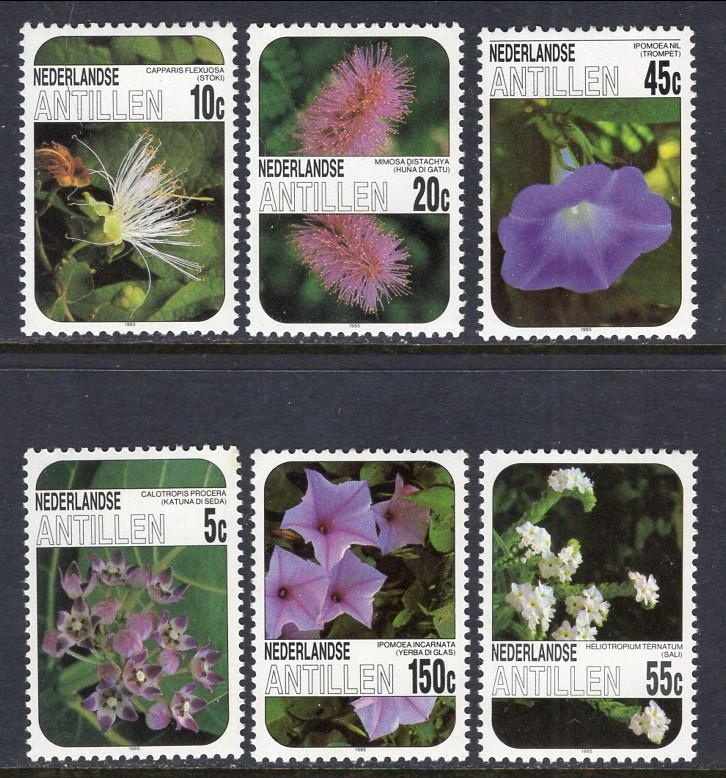 Netherlands 538-543 Flowers MNH VF