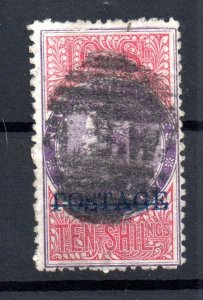 New South Wales 1894 QV 10/- Stamp Duty WS16629