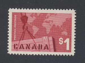 Canada $1.00 Stamp #411-$1.00 Exports MNH VF Guide Value = $12.00