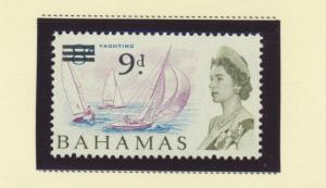 Bahamas Scott #221, Mint Never Hinged MNH, Surcharged Value Issue From 1965 -...