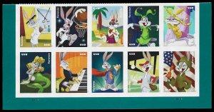 PCBstamps     US #5494/5503 PB $5.50(10x{55c)Bugs Bunny, MNH, (1)