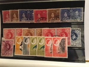 Swaziland mounted mint and used stamps R21727