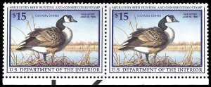 U.S. REV. DUCKS RW64(var)  Mint (ID # 94797)