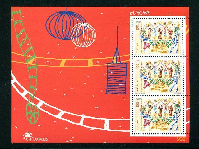 Portugal  Europa 1998 sheet  VF NH