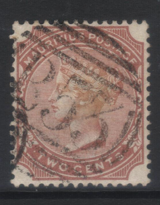 MAURITIUS 1883-1894 CROWN CA SG102 USED