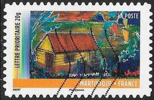 France 4133 Used - ‭‭‭Year of Overseas Territories - Martinique