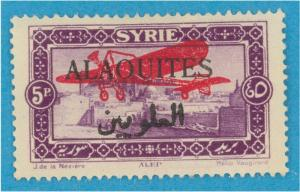 FRENCH MANDATE - ALAOUITES C11 AIRMAIL  MINT HINGED OG *  NO FAULTS EXTRA FINE !