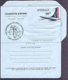 Australia 1965 Law Conference 10c Airletter form, unused ...