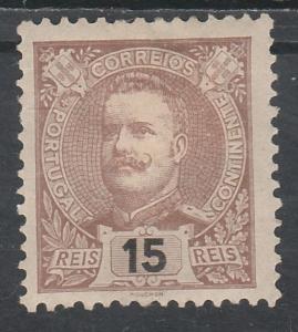 PORTUGAL 1895 CARLOS 15R