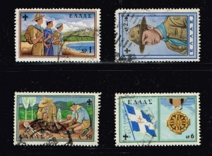 GREECE Stamp 1960 The 50th Anniversary of the Boy Scout Movement USED STAMPS4