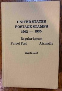 US Postage Stamps 1902-1935 by Johl 1976, Stamp Philately Book