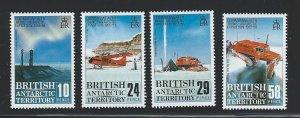 British Antarctic Territory mnh S.C.#  145 - 148