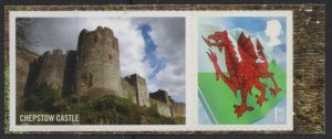 z3322) Great Britain - Wales. 2007 MNH  SG as w122. !st from LS37