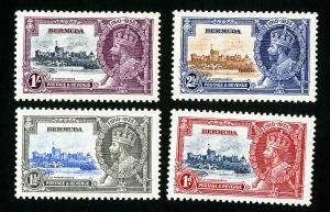 Bermuda Stamps # 100-3 VF OG LH Catalog Value $18.00