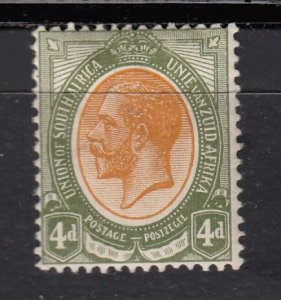 J28429, 1913-24 south africa mh #9a king
