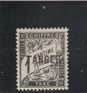 French Morocco  Scott#  J35  MH / HR (1918 Postage Due)