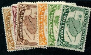 HERRICKSTAMP COSTA RICA Sc.# 169-76 Mint Hinged Scott Retail $50.00