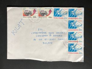 Indonesia #780//B242 Cover to Finland (1970-1999) Cover #2071