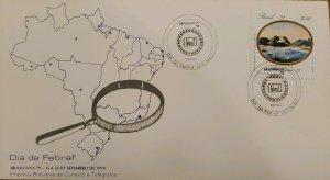 A) 1979, BRAZIL, FEBRUARY DAY, INTERNATIONAL THENATIC PHILATELIC EXHIBITION BRAZ