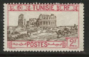 Tunis Tunisia Scott 93 MH*