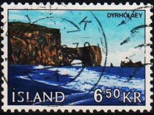 Iceland. 1966 6k50 S.G.435 Fine Used