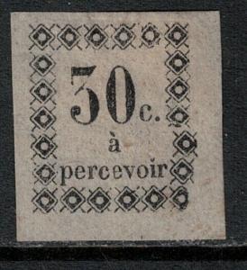 Guadeloupe 1879 SC J5 Mint SCV $110.00