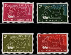 South Viet-Nam Scott 112-115 MH* Agrarian Reform set