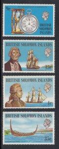 Solomon Islands Scott #250-253 MNH