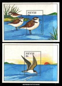 Nevis Scott 901-902 Mint never hinged.