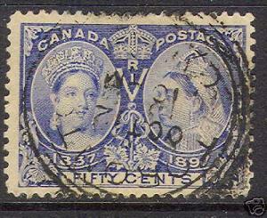 Canada #60 XF Used CDS