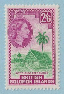 BRITISH SOLOMON ISLANDS 102  MINT NEVER HINGED OG ** NO FAULTS EXTRA FINE!