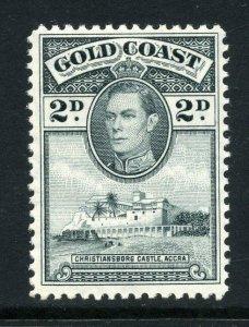 Gold Coast 1938 KGVI 2d line perf 12 SG 123 mint