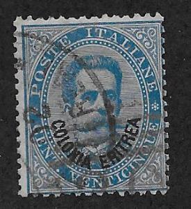 ERITREA SC# 6  AVF/U 1892