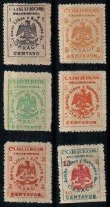 Mexico Scott 414-19 Mint hinged