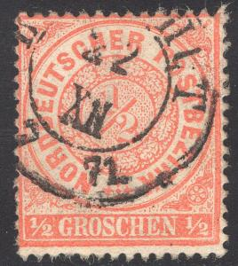 NORTH GERMAN CONFEDERATION SCOTT 15