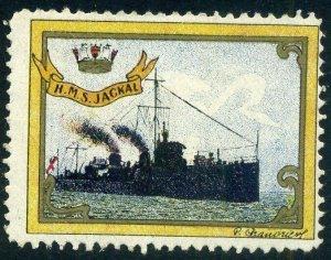 Cinderellas: England Great War Ships - HMS Jackal (Delandre)